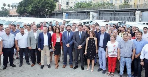 La Junta entrega 31 vehículos a entidades locales granadinas de menos de 20.000 habitantes.jpg