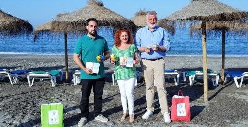 Los Chiringuitos de la Costa Tropical repartirán 6.000 conos colilleros para colaborar con la limpieza de las playas