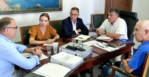 Primera reunión de trabajo con el delegado territorial de Salud y Familias