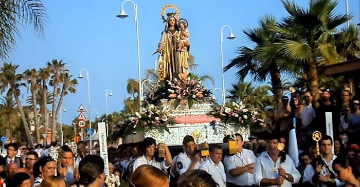 Procesión de la Virgen del Carmen de Almuñécar