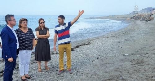 Rodríguez visita las playas del litoral de Granada afectadas por los últimos temporales.jpg