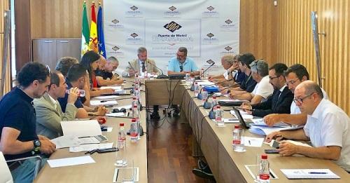 Un momento de la reunión del Consejo de Navegación del Puerto de Motril.jpg