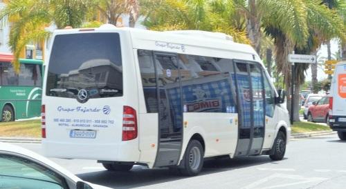 Autobús acondicionado Salobreña