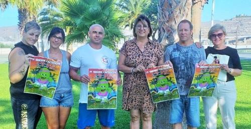 El domingo 25 se celebrará en la playa de Carchuna la IV edición de 'Cactusgym' en beneficio de la AECC.jpg