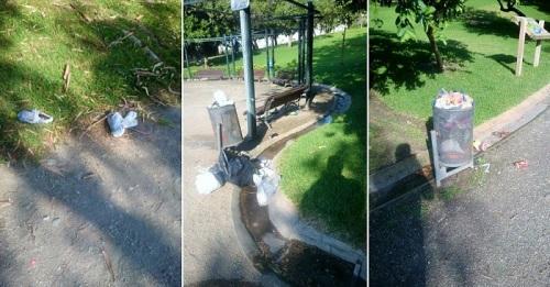 El PSOE dice evidenciar la ausencia de mantenimiento y plan de limpieza en el Parque de los Pueblos de América.jpg