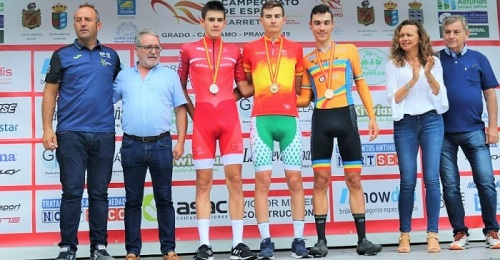 El sexitano Carlos Rodríguez revalida su título de Campeón de España Junior de Contrarreloj