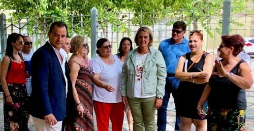 La alcaldesa anuncia su intención de concluir el arreglo de La Fabriquilla, pendiente desde hace cuatro años.jpg