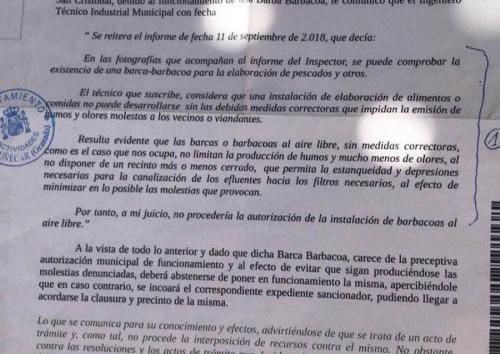 Notificación Ayuntamiento Almuñécar espetos.png