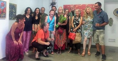 Un colectivo de artistas alpujarreños expone en Órgiva Tierra Frágil, en torno al cambio climático.jpg