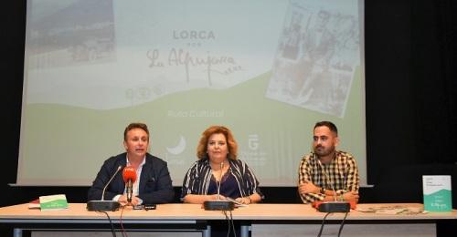 """Diputación y la Mancomunidad de Municipios de La Alpujarra presentan la Ruta Cultural """"Lorca por la Alpujarra"""".jpg"""