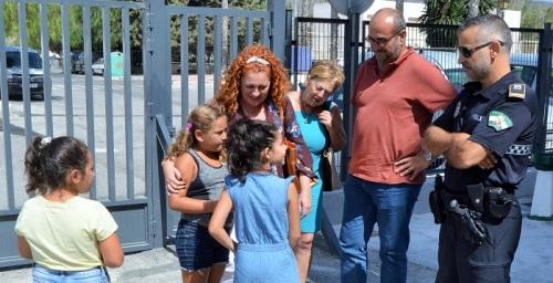 El gobierno de Salobreña pone a punto los colegios de cara al inicio del nuevo curso escolar