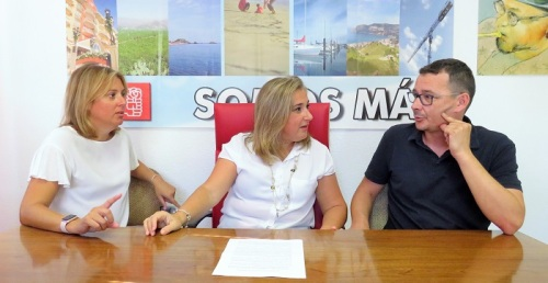 El PSOE valora los 100 primeros días del gobierno municipal de Herrera.jpg
