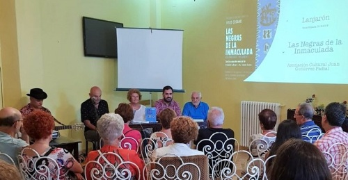 Jesús Cosano presenta en Lanjarón su libro 'Las negras de la Inmaculada'.jpg