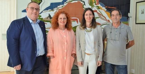 La diputada de Medio Ambiente mantiene su primera reunión de coordinación con el gobierno de Salobreña