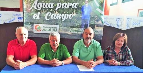 'Agua para el Campo' presenta su candidatura a las elecciones generales del próximo 10 de noviembre.jpg