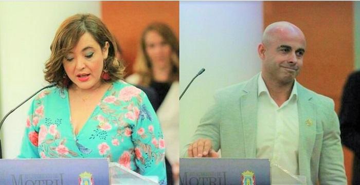 Concejales independientes de Motril Susana Peña Gómez y Daniel Ortega Moreno.jpg