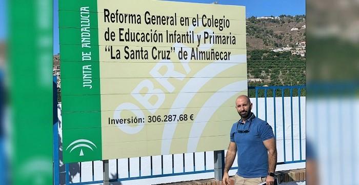 La rehabilitación del colegio La Santa Cruz continúa a buen ritmo.jpg