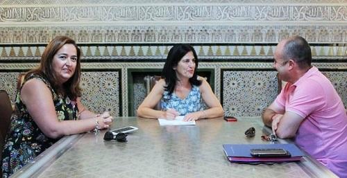 Mª José Sánchez obtiene el compromiso de la subdelegada del Gobierno de impulsar las demandas de la Costa.jpg