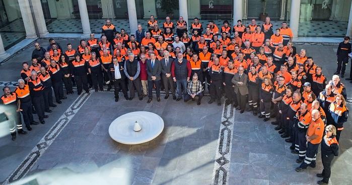 Más de 140 voluntarios analizan su participación en Protección Civil en unas jornadas provinciales en Granada.jpg
