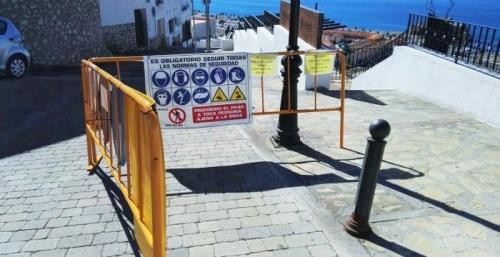 Obras de renovación de infraestructuras de abastecimiento y saneamiento del Casco Antiguo de Salobreña