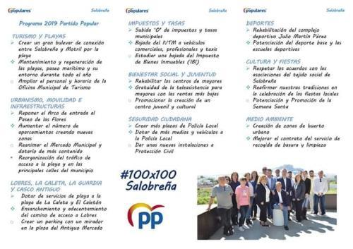 PROGRAMA ELECTORAL PP SALOBREÑA