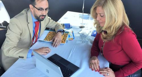 Reunión con Edie Rodríguez, de la naviera Ponant Yatch (3).JPG
