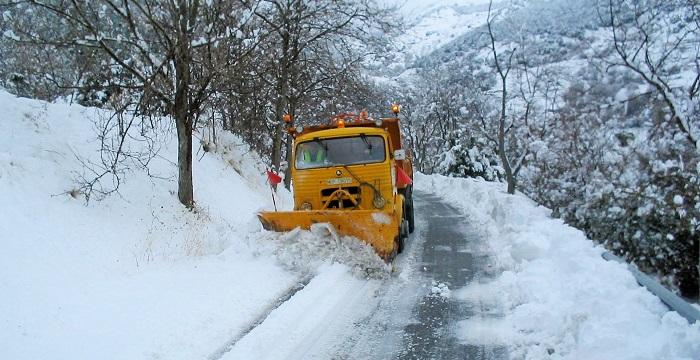 Carretera nieve Granada