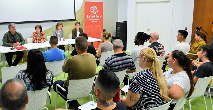 Cáritas y Grupo La Caña clausuran un curso de formación para el empleo con un nivel de inserción del 81%.jpg