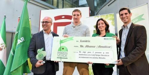Diputación y Ecovidrio premian a Almuñécar como 2ª ciudad española que más vidrio ha reciclado este verano.jpg