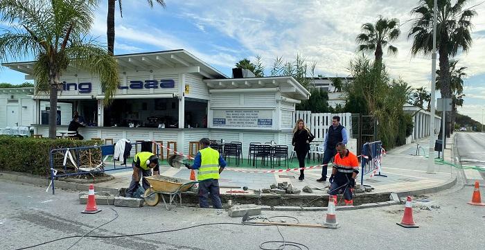 El Ayto. de Motril acomete obras de mantenimiento y mejora en numerosas vías del municipio