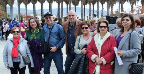 El PSOE expresa su compromiso contra la violencia de género.jpg