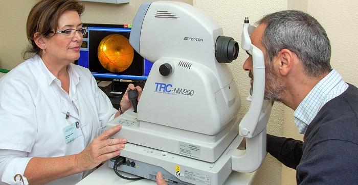El SAS realiza retinografías a cerca de 3.000 pacientes con diabetes en el último año para prevenir una posible ceguera.jpg