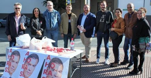 Gregorio Morales y Manuel Guirado hacen un último llamamiento a la participación y a votar al PSOE.jpg