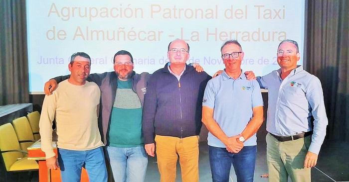 Marcos Corral Ruiz, reelegido presidente de la Agrupación Patronal del Taxi Almuñécar – La Herradura - Europatropical