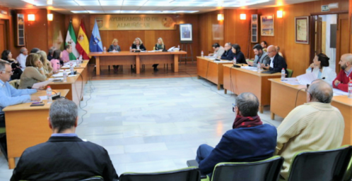 Pleno noviembre Ayuntamiento de Almuñécar