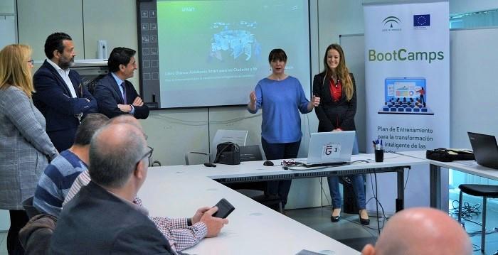 Trece municipios de Granada participan en la nueva convocatoria del Programa 'Bootcamps' sobre ciudades inteligentes