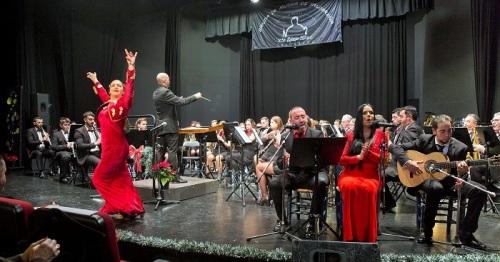 'Con...Cierto Flamenco_Banda de Música de Salobreña', por Jorge García
