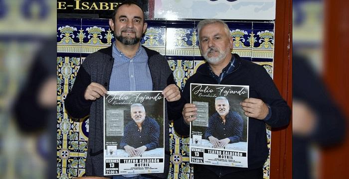 El cantaor Julio Fajardo presentará en Motril su último disco 'Recordando'.jpg
