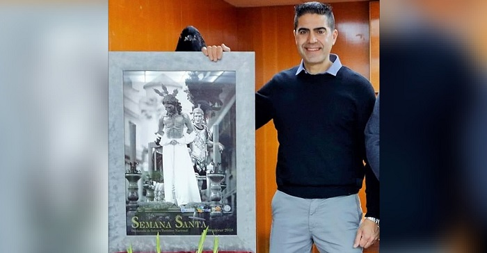 El Cristo de la Buena Muerte, de Leonardo Cervilla, cartel de la Semana Santa de Almuñécar 2020.jpg