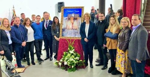 La Semana Santa de Motril se anuncia en azul y oro en su cartel oficial 2020.jpg
