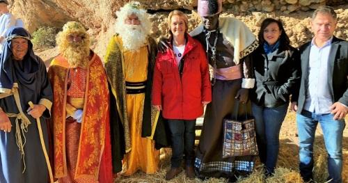 Los Tablones vive su Belén marcado por la iniciativa municipal de pedir su declaración de Interés Turístico
