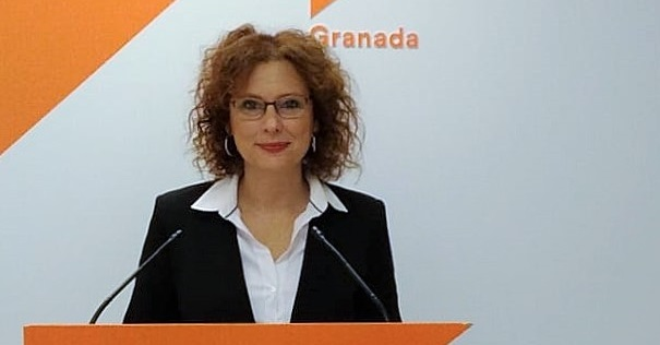 Mar Sánchez, parlamentaria andaluza por Granada de Cs.jpg