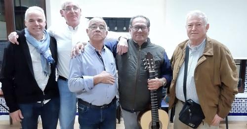 Más de 150 mayores de Salobreña disfrutan de una merienda de Navidad amenizada por la Peña Flamenca.jpg