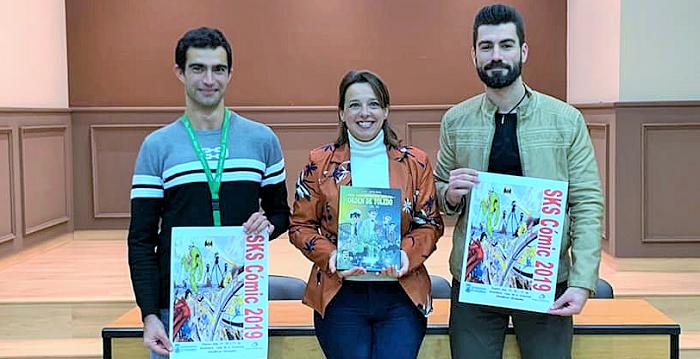 'SKS Cómic 2019', en la Casa de la Juventud de Almuñécar.png