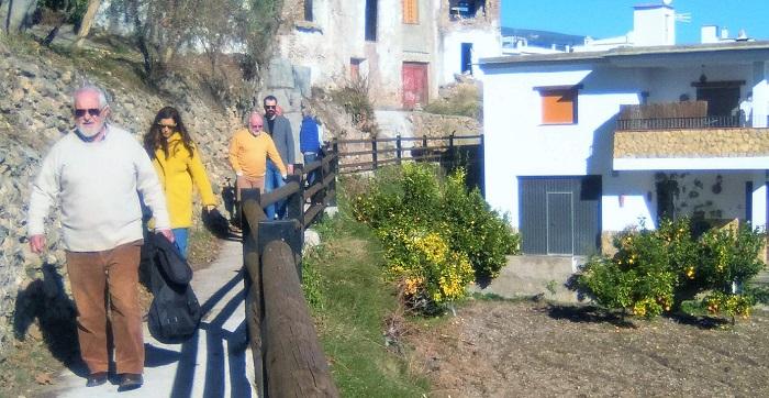 Yegen cuenta con un nuevo sendero que homenajea a Gerald Brenan y a Federico García Lorca.jpg