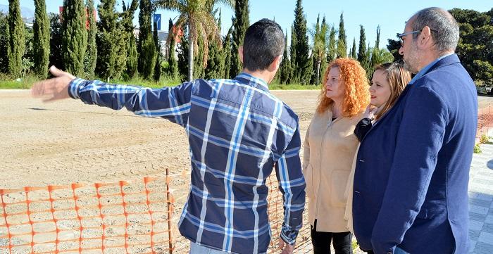 100 mil euros para la rehabilitación del parque de la Libertad de Salobreña y un plazo de ejecución de 3 meses