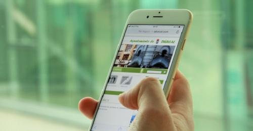 Diputación diseñará una versión para móvil de las web municipales para favorecer la participación ciudadana.jpg