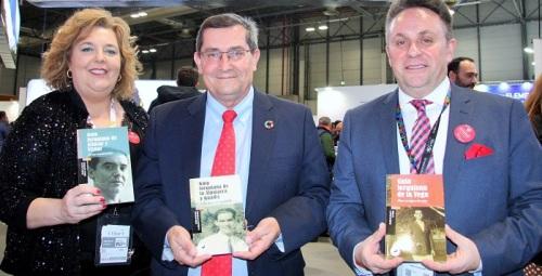 Diputación presenta en Fitur las guías lorquianas de la Vega, la Alpujarra y Guadix y Víznar y Alfacar