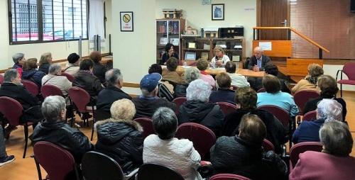 El Centro Municipal de Mayores de la calle Ancha aprueba su programa de actividades para 2020