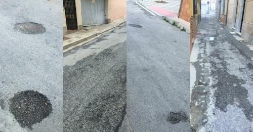 El PSOE reclama el arreglo de la calle Pontanilla, en el barrio de Las Angustias